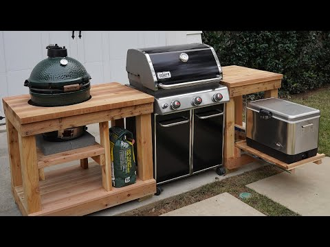 Grill Like A Champion: How to Build an Outdoor Kitchen Island
