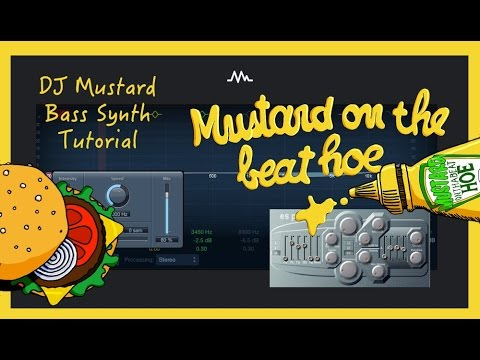 How to make a DJ Mustard Bass Synth