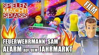🚨 Feuerwehrmann Sam 🚒 ALARM AUF DEM JAHRMARKT 🚁 Kinderfilm auf deutsch   Einsatz für Fireman Sam