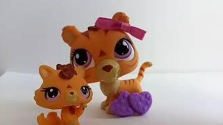 LPS новинки! Мама и малыш тигр и пудель! Смотри описание!