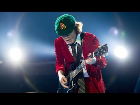 ANGUS YOUNG's 18 Greatest Guitar Techniques!