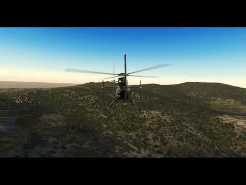 Bell-407 (Dreamfoil) -- Girona–Costa Brava ➡ Barcelona El Prat (LEGE ➡ LEBL) -- X-Plane 11.02
