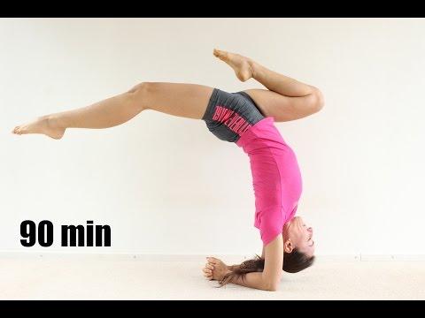 Виньяса йога: Перевернутые позы - уровень 2