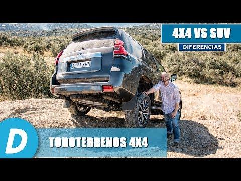 Todoterrenos 4x4: diferencias entre un SUV y un todoterreno auténtico | Diariomotor