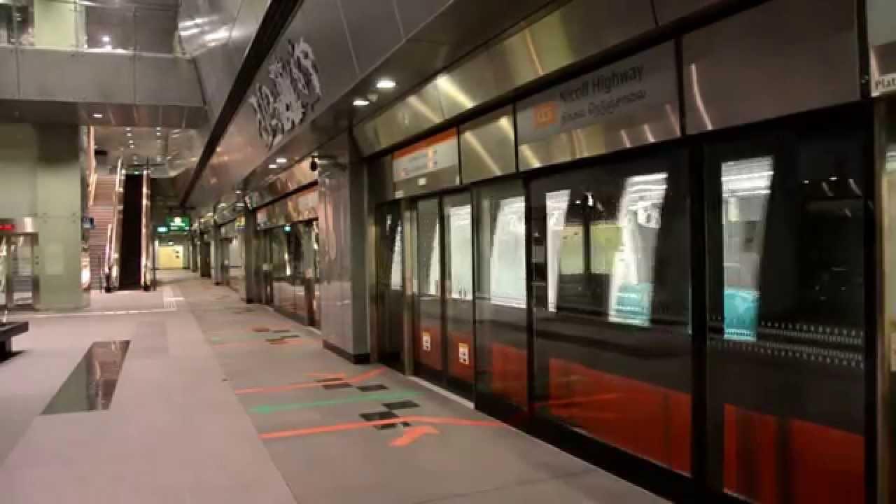 Singapore Mrt Subway Station Youtube