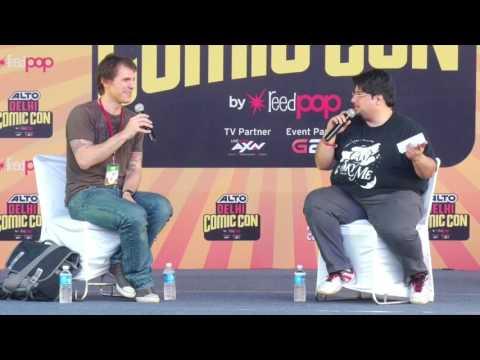 Session With Joe Harris at Alto Delhi Comic Con 2016 | Comic Con India
