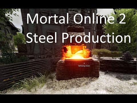 Mortal Online 2 – Steel Production Guide [Crafting]
