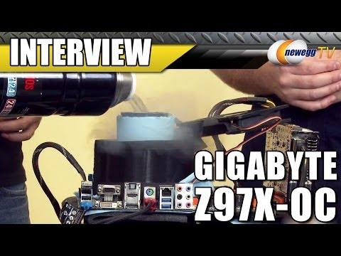 LN2 Overclocking Demo with Gigabyte's Z97 OC Motherboard - Newegg TV