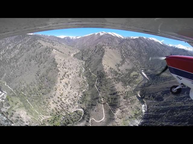 takeoff and landing at Yellowjacket