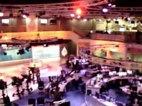 News Broadcasting Room