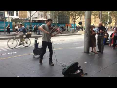 Canon in D Mesmerizing! Best Street Performer