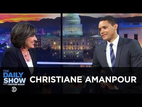 """Christiane Amanpour - Being """"Truthful, Not Neutral"""" 