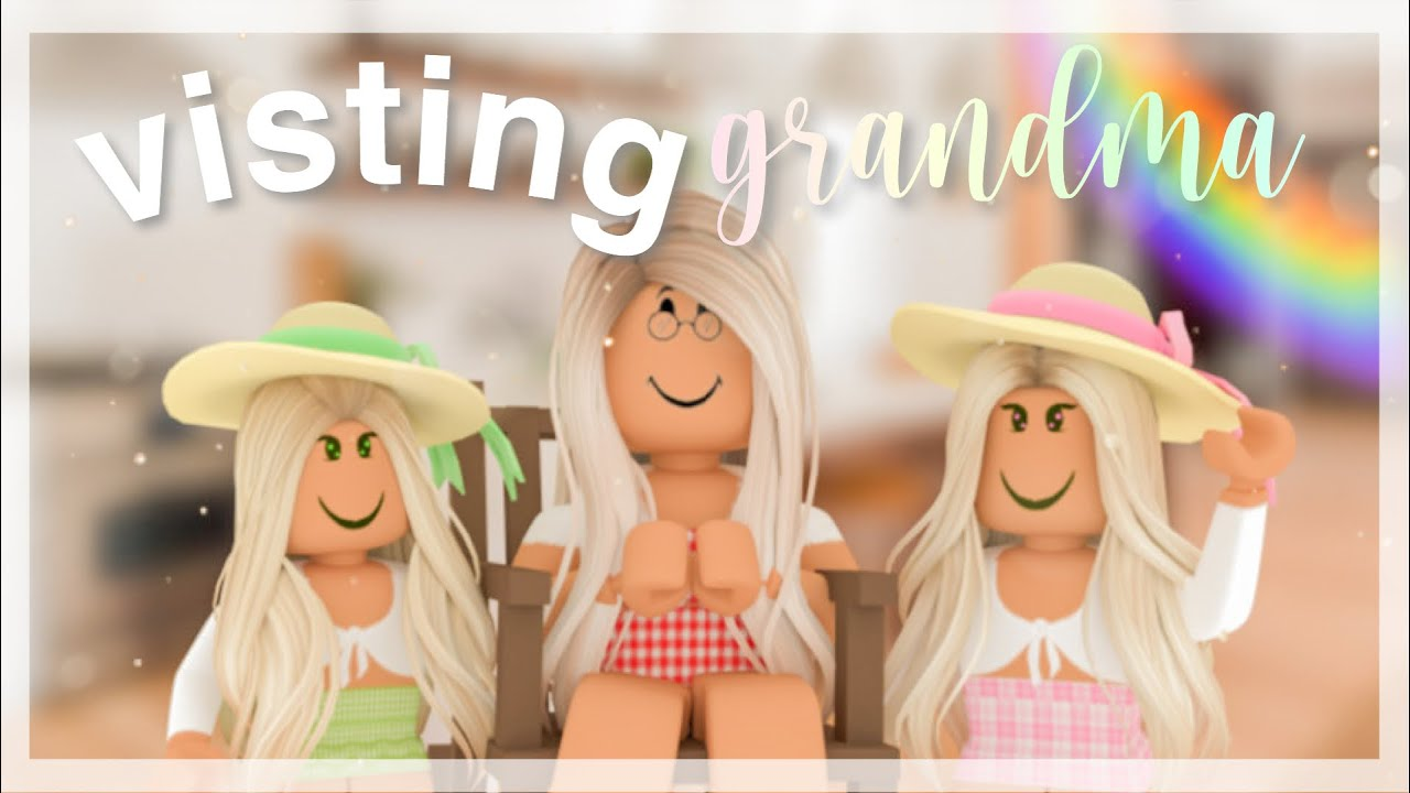 Visiting Grandma for a Day | Roblox Bloxburg Roleplay