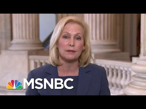 Sen. Gillibrand: Trump 'Delusional' For Attacking First Responders | Hallie Jackson | MSNBC from YouTube · Duration:  6 minutes 5 seconds