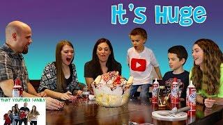 Giant Ice Cream Sundae / That YouTub3 Family