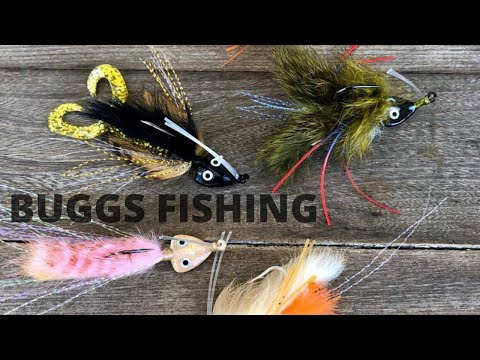 Catch More Fish With BUGGS FISHING (Hand Tied Fishing Lures)