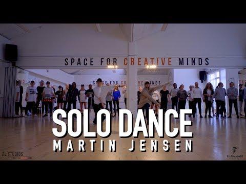 Tobias Ellehammer Original Music Video Choreography / Solo Dance - Martin Jensen