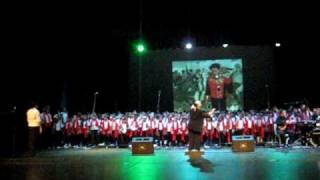cantata a bolivar, teatro de la opera. 2009 primer tema