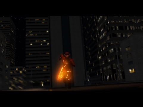 The Flash Run Animation Test - New CGI City ⚡️