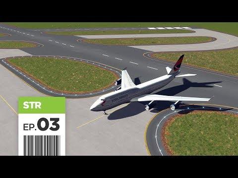 Cities Skylines: FBS International Airport — Part 3 — Runways & Taxiways