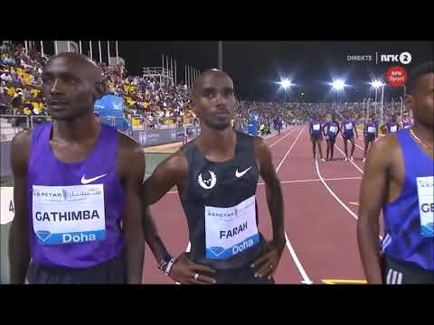 Ethiopian athletics Mo Farah number one in the world number two in Ethiopia