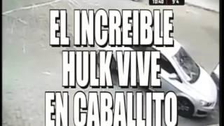 El increíble Hulk es de Caballito!