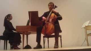 G.Ph.Telemann Sonate D-Dur für Violoncello und B.c.
