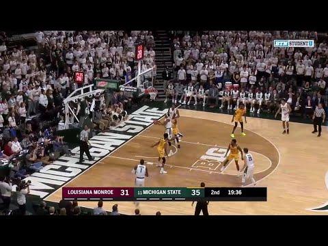 Highlights: Louisiana Monroe at Michigan State  | Big Ten Basketball