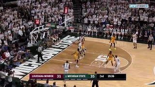 Highlights: Louisiana Monroe at Michigan State  | Big Ten Basketball