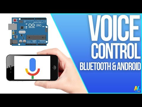 Arduino Control With Android Voice Command (via Bluetooth