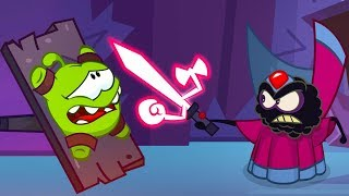 Om Nom Stories - Super-noms: Gatecrasher  Part 2  Cut The Rope  Super Toonstv