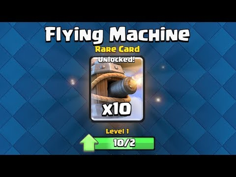 FLYING MACHINE UNLOCKED ✅   :: Clash Royale Suomi