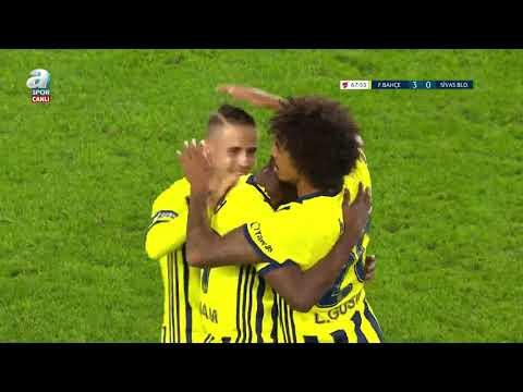 Fenerbahçe 4 - 0 Sivas Belediyespor (MAÇ ÖZETİ VE GOLLERİ)