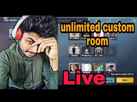 PUBG LIVE CUSTOM ROOMS | Unlimited Custom Rooms Live | Asia Server | INDIA/PAK