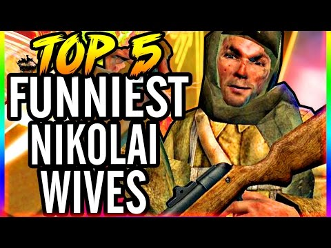 Nikolai's Top 5 Wives ~ Zombie Storyline ~ Call of Duty Black Ops & WaW Gameplay! Collab w/ JohnyJ25