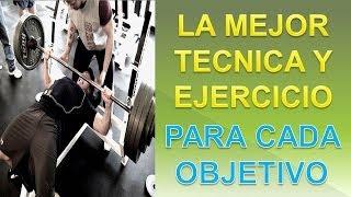Quemar Grasas Y Aumento Muscular (Mejor Ejercicio Y Tecnica)