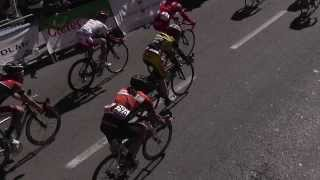 Llega Carrera Ciclista con mucho sol