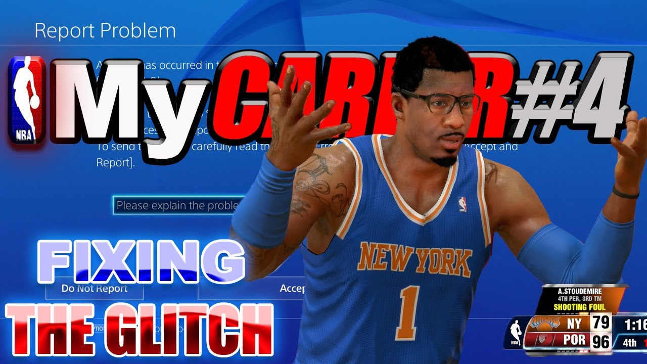 """NBA 2K14 PS4: Potential Fix for Error """"CE-34878-0"""" My Career"""