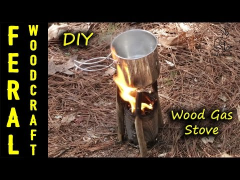 How to Make a Wood Gas Stove - Quick and Easy
