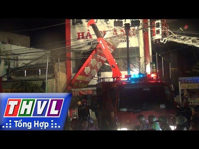 THVL | Người đưa tin 24G: Một người bị điện giật do bảng quảng cáo ngã đổ trong mưa dông