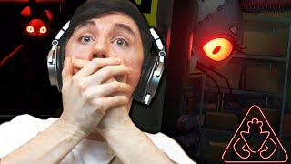 FNAF SECURITY BREACH GAMEPLAY REACTION - OMG IT'S HAPPENING!!!