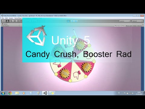 Unity 5 Tutorial, Booster Rad Candy Crush