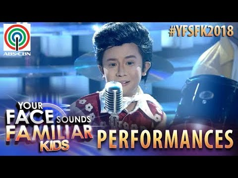 Your Face Sounds Familiar Kids 2018: Onyok Pineda as Elvis Presley  Teddy Bear