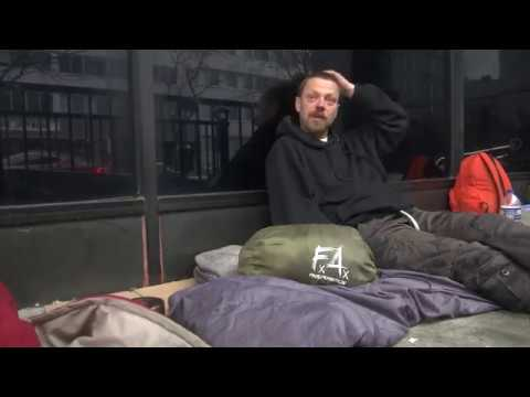 Sleeping bags for the homeless