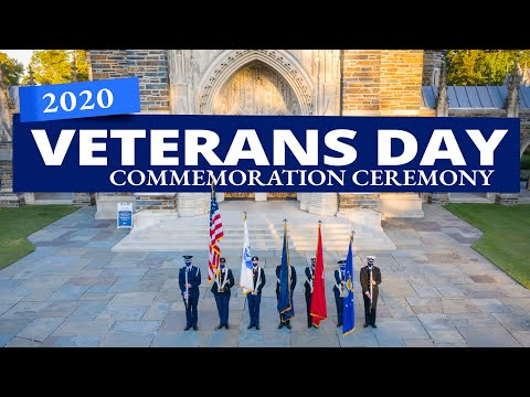2020 Veterans Day Ceremony | Duke University