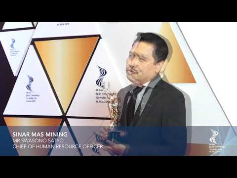 SINAR MAS MINING - INTERVIEW VIDEO (INDONESIA'S BEST COMPANIES TO WORK FOR IN ASIA 2019)