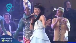 Lesti Zapin Melayu at Yonder Music kereeeennnn