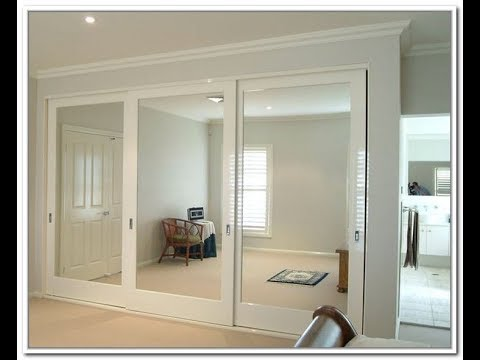 Mirror Closet Sliding Door Youtube