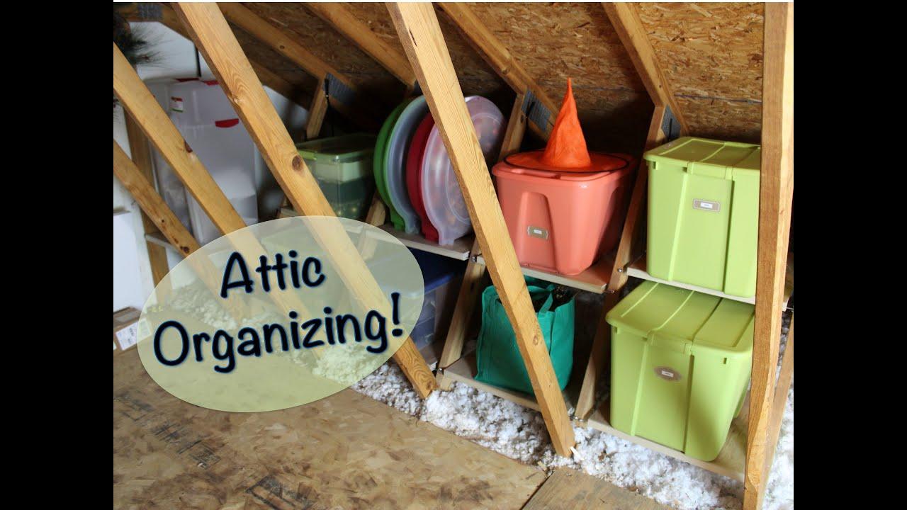 Attic Organization Ideas Atticmaxx Review And Giveaway
