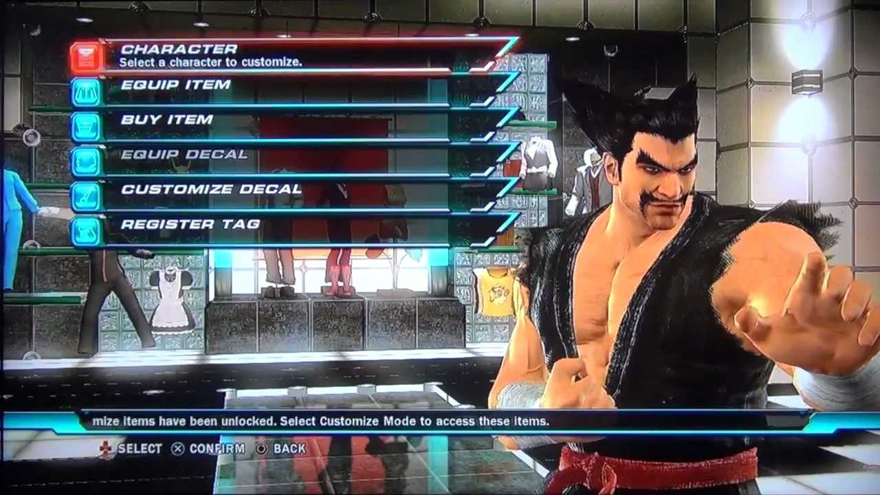 Tekken Tag 2 Heihachi Customization